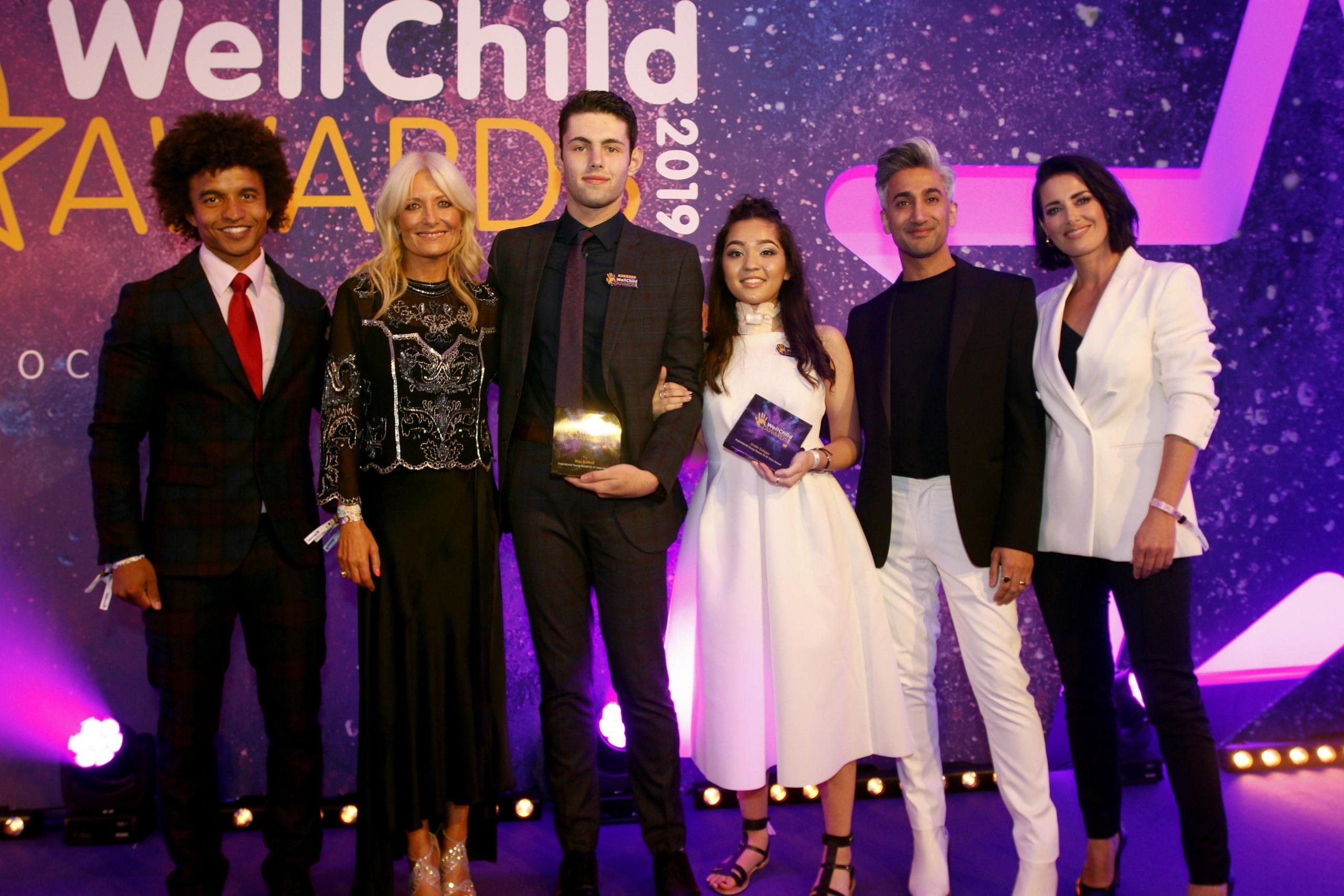 Winners WellChild Awards 2019